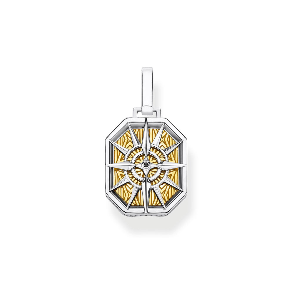 Thomas Sabo Compass Gold riipus PE867-849-7