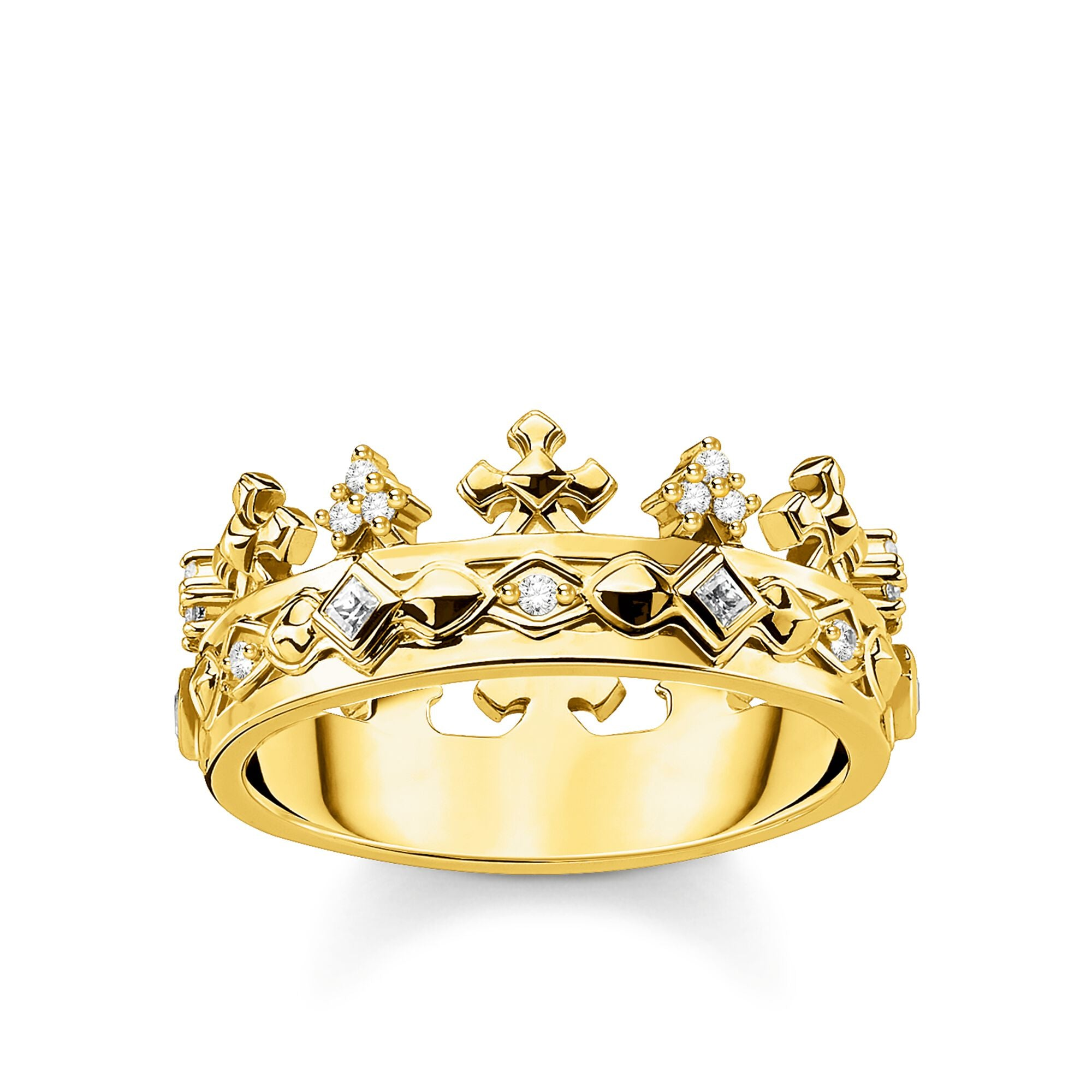 Thomas Sabo Crown Gold sormus TR2302-414-14