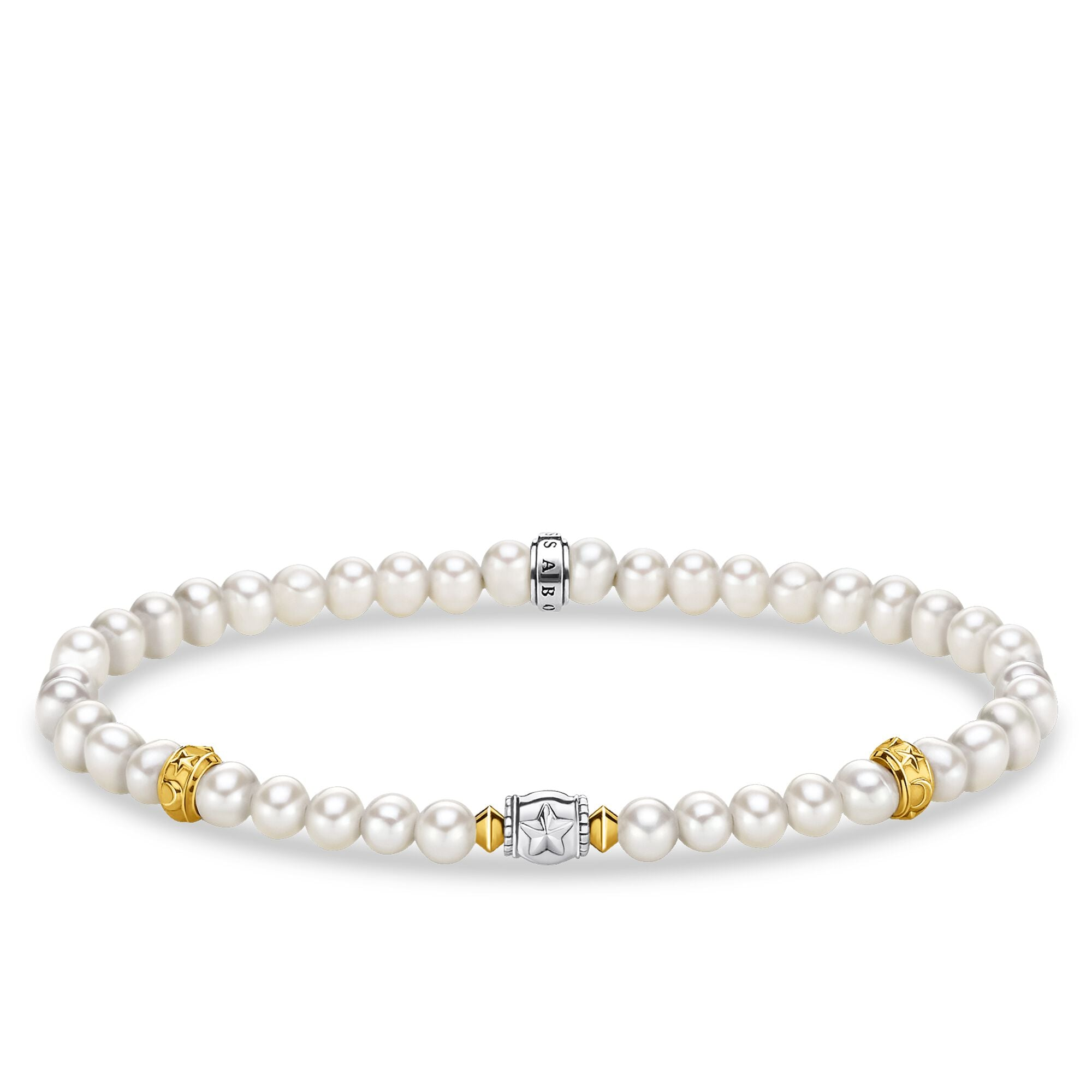 Thomas Sabo Pearls With Crecent Moon rannekoru A1979-430-14-L17