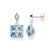 Thomas Sabo Blue Stone With Star korvakorut H2108-644-31