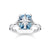 Thomas Sabo Blue Stone With Star sormus TR2288-644-1