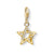 Thomas Sabo Charm Club Star Stones Gold 1851-414-14