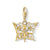 Thomas Sabo Charm Club Butterfly Star & Moon Gold 1853-414-14