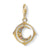 Thomas Sabo Charm Club Moon Colourful Stones Gold 1855-959-7