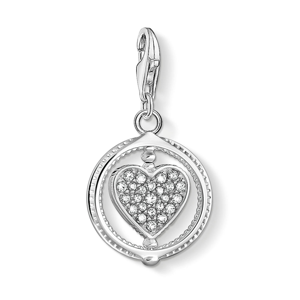 Thomas Sabo Charm Club Heart Pavé 1858-051-14