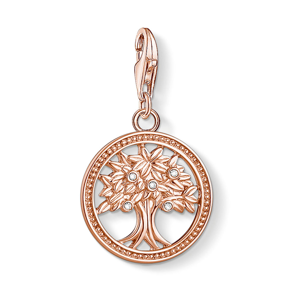 "Thomas Sabo Charm Club Tree of Life Rose Gold ""elämänpuu"" 1861-416-14"