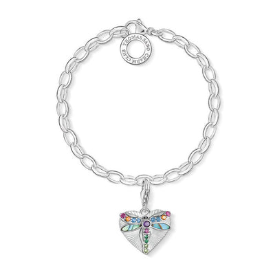 Thomas Sabo Charm Club Dragonfly Heart 1811-964-7