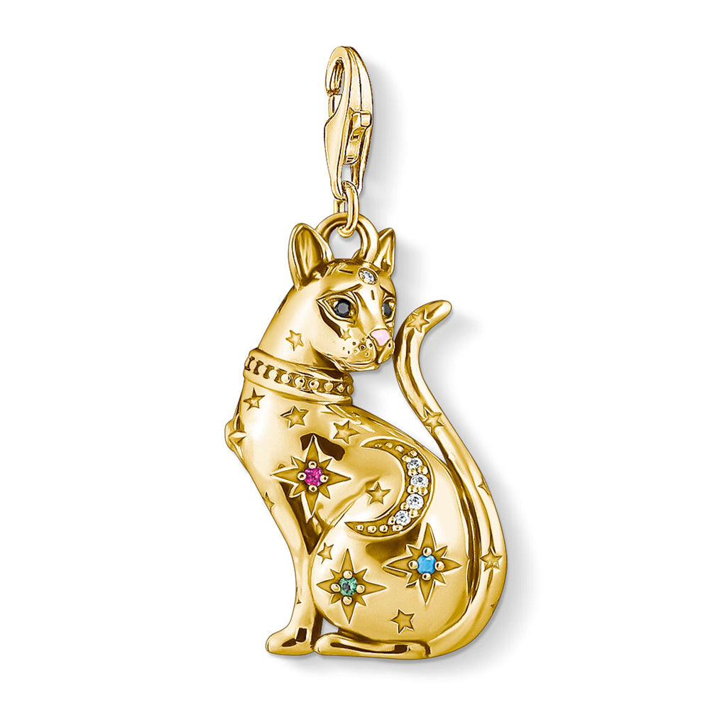 Thomas Sabo Charm Club Cat Constellation Gold 1838-471-7