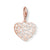 Thomas Sabo Charm Club Ornament Heart Rose Gold 1498-415-12