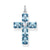 Thomas Sabo Cross Large Blue Stones With Star riipus PE880-644-1