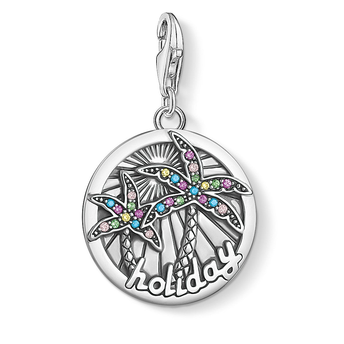 Thomas Sabo Charm Club Disc Tropical 1768-342-7