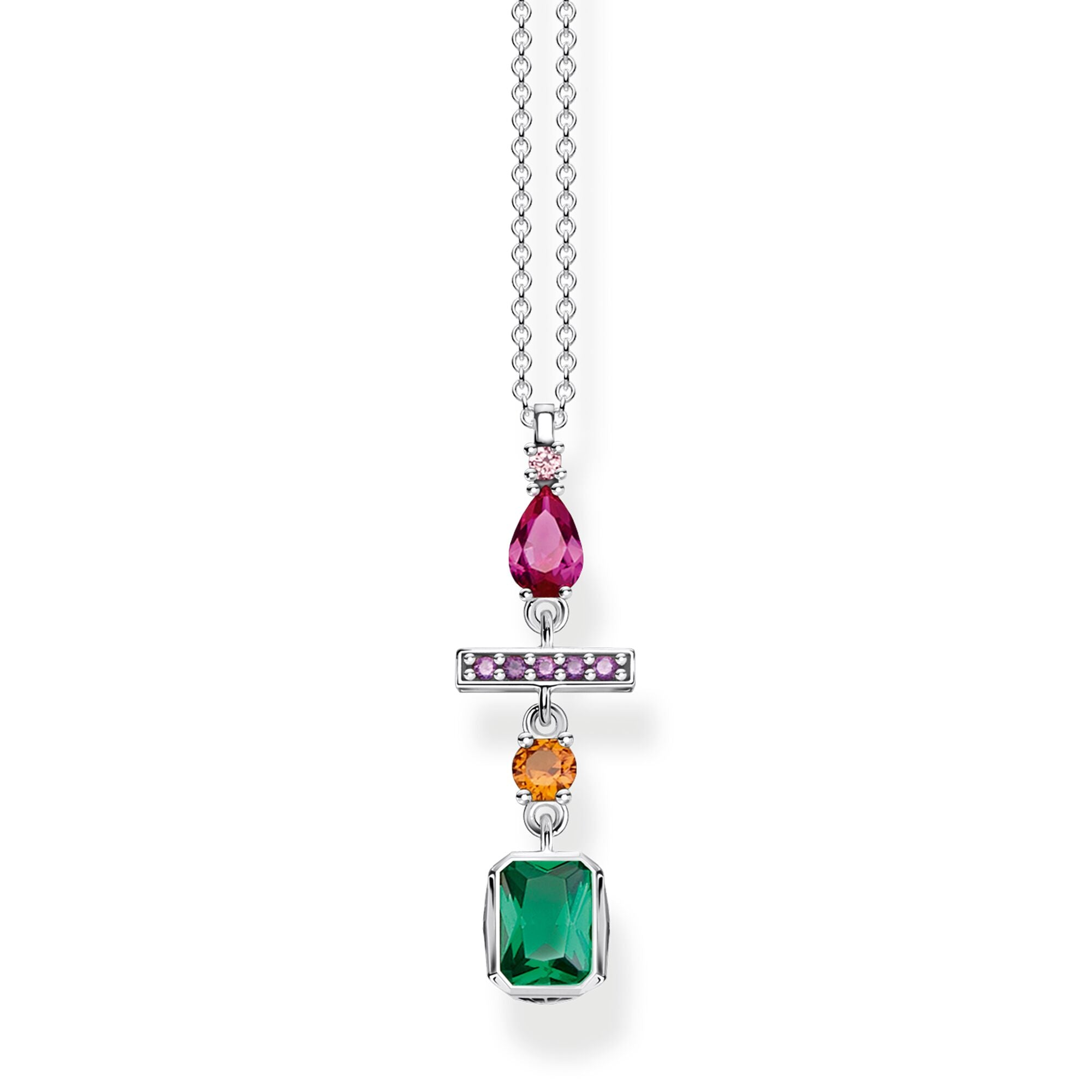 Thomas Sabo Colourful Mix of Forms kaulakoru KE1892-342-7
