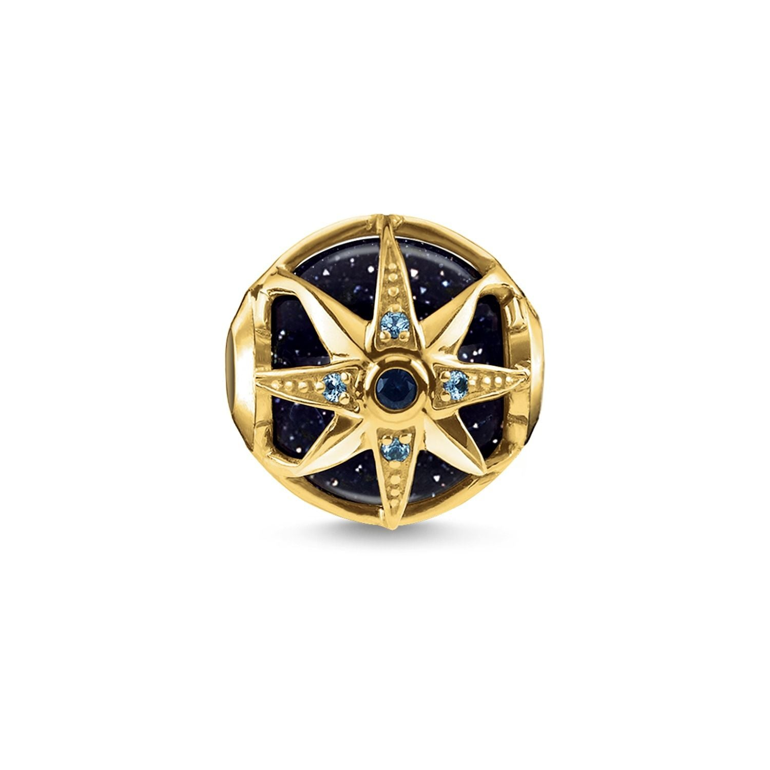 Thomas Sabo Karma Bead Royalty Star Blue K0309-963-1