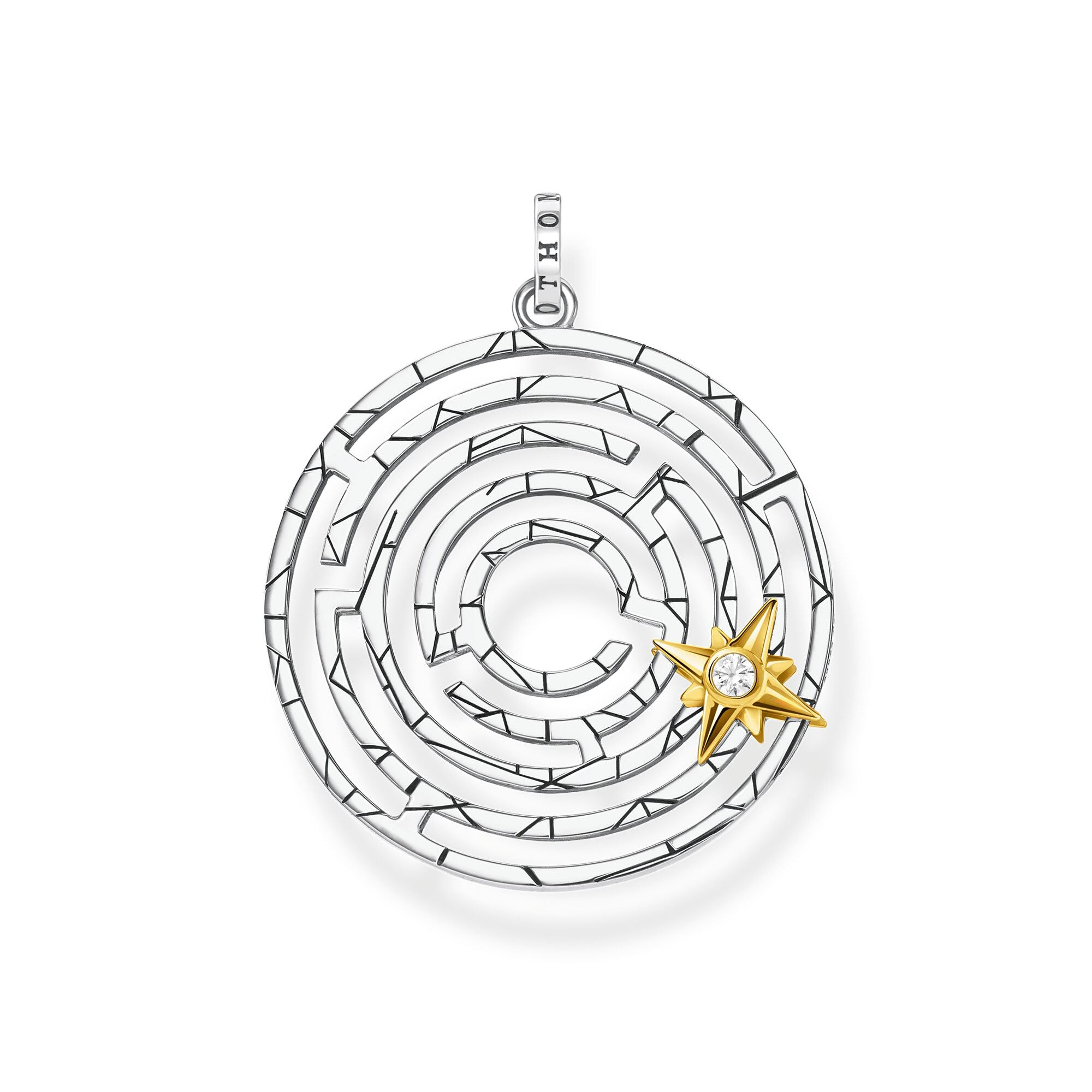 Thomas Sabo Labyrinth With Golden Star riipus PE851-849-14