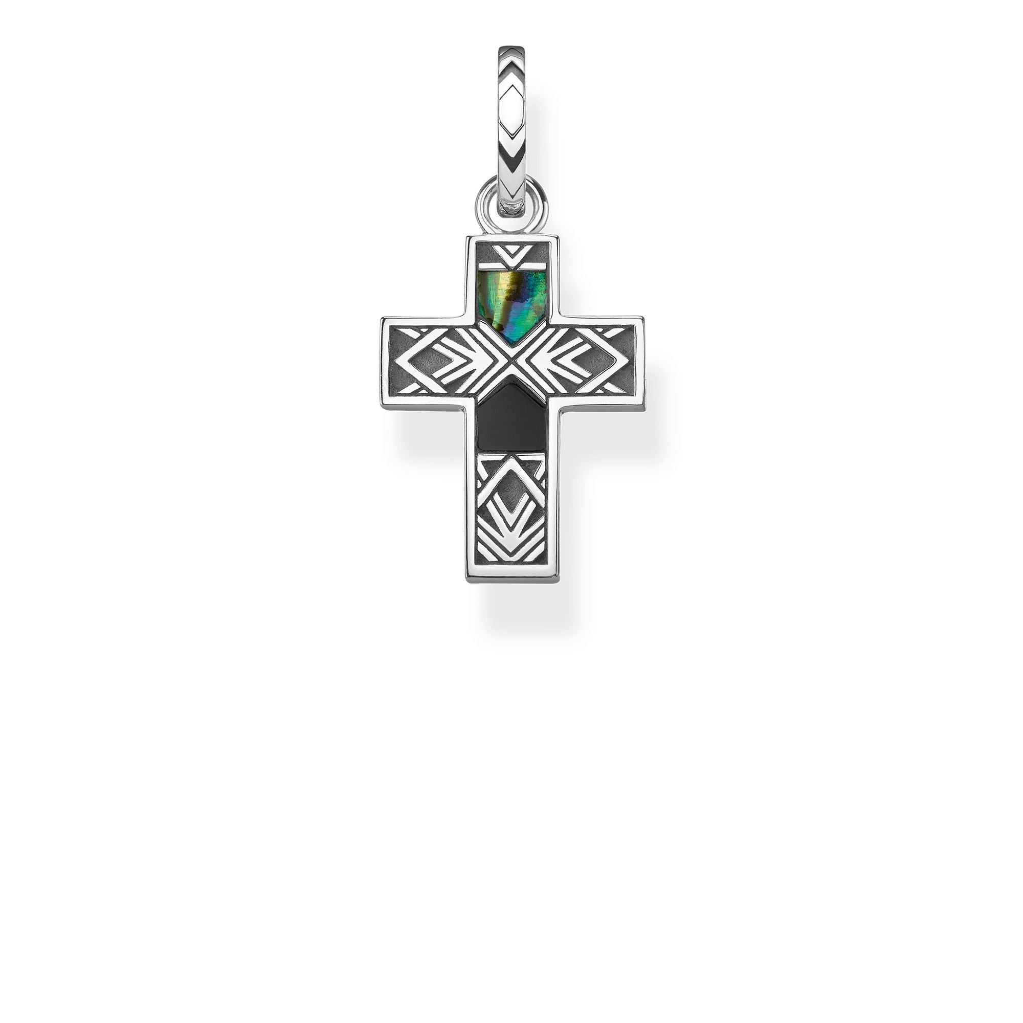 Thomas Sabo Cross Abalone Mother-of-Pearl riipus PE835-976-7