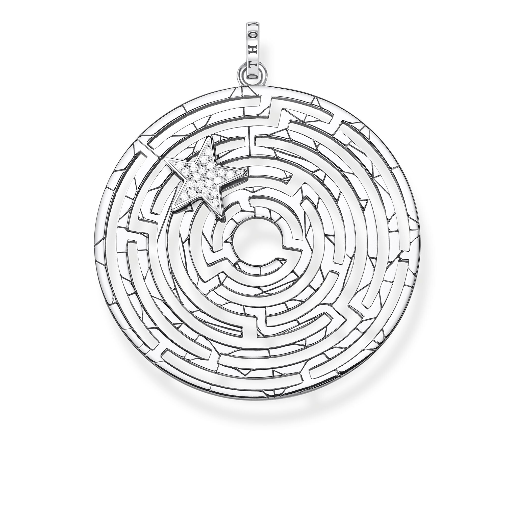 Thomas Sabo Labyrinth With Silver Star riipus PE852-643-14
