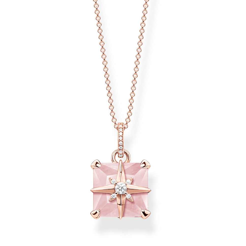 Thomas Sabo Pink Stone With Star kaulakoru KE1953-417-9