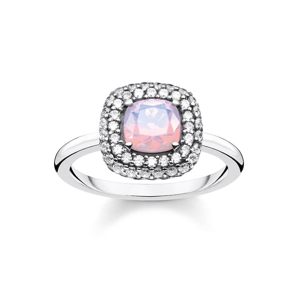 Thomas Sabo Shimmering Pink Opal Colour Effect sormus TR2287-347-7