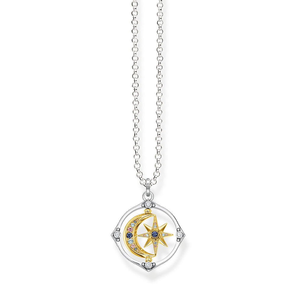Thomas Sabo Star & Moon Gold kaulakoru KE1985-556-7