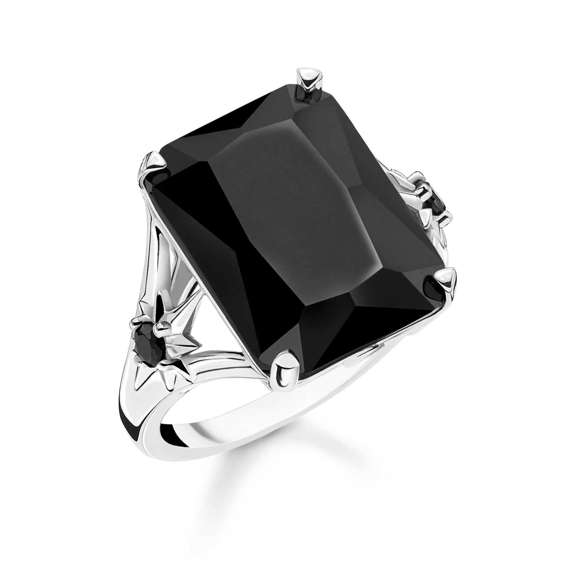 Thomas Sabo Black Stone With Star sormus TR2261-641-11