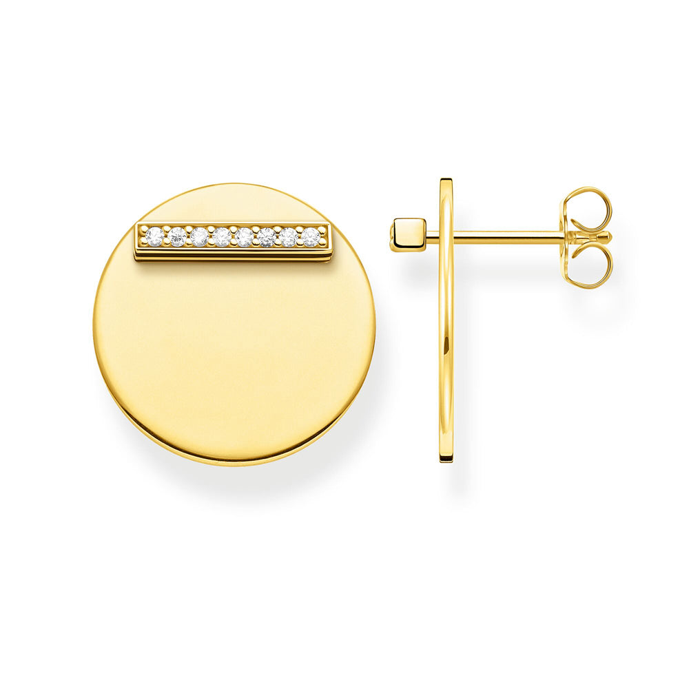 Thomas Sabo Together Disc Gold korvakorut H2096-414-14