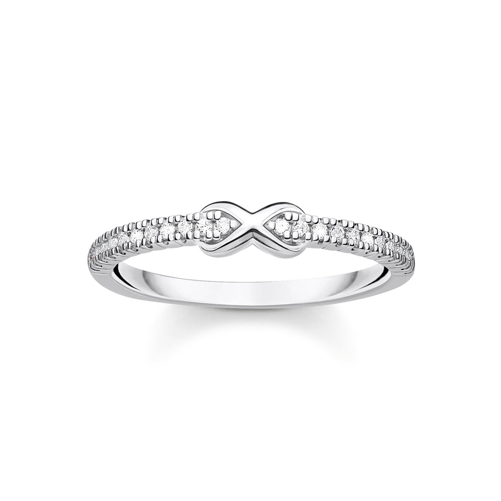Thomas Sabo Infinity With White Stones sormus TR2322-051-14