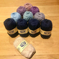 Knitting Kit for Rig O' Flooers Cushion - SWW Annual 2020