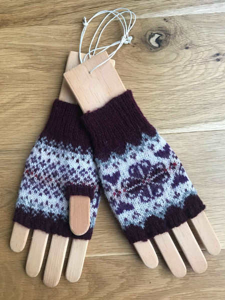 Printed Pattern For Heathland Mitts
