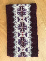 Printed Pattern For Heathland Cowl