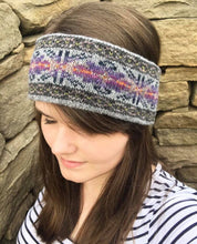 Billister Lights Knitted Fair Isle Headband