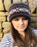 Sweet Pea Knitted Fair Isle Headband