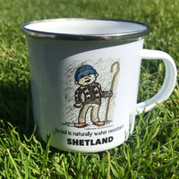 Enamel Camping Mug - The Amazing Benefits of Wool