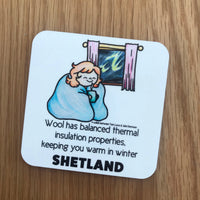 Square Coasters - The Amazing Benefits of Wool