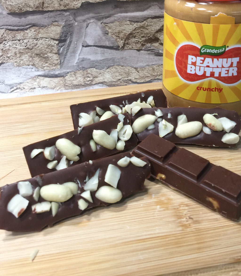 Peanut Butter Mini Bars