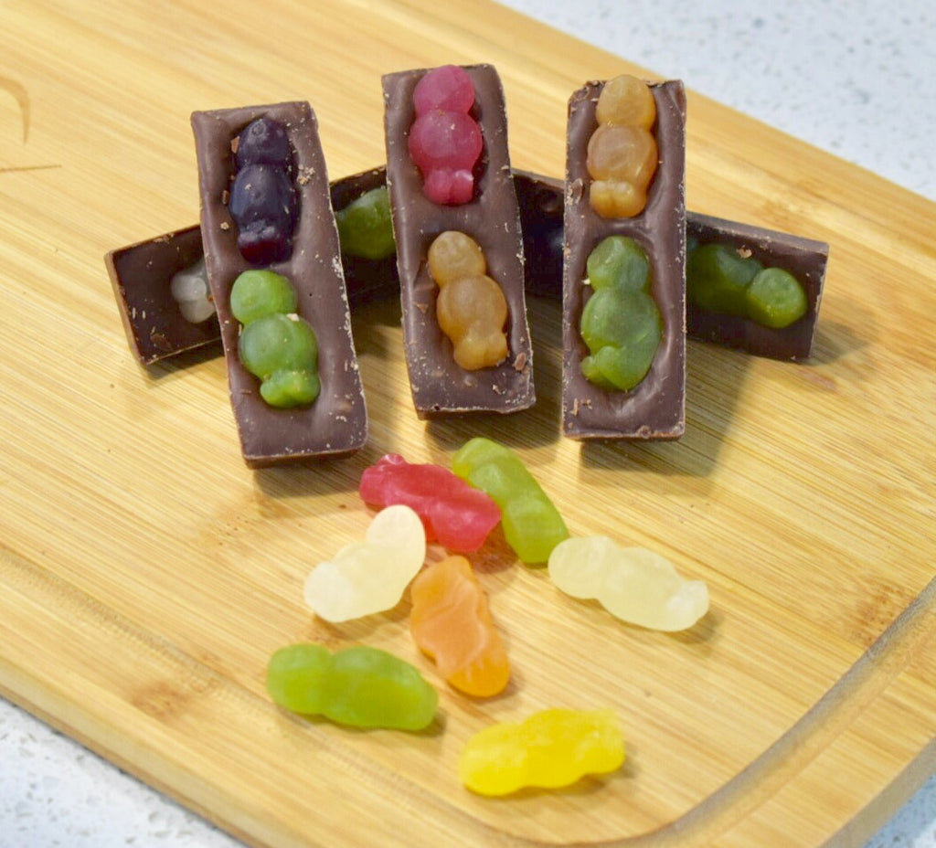 Jelly Baby Mini Bars