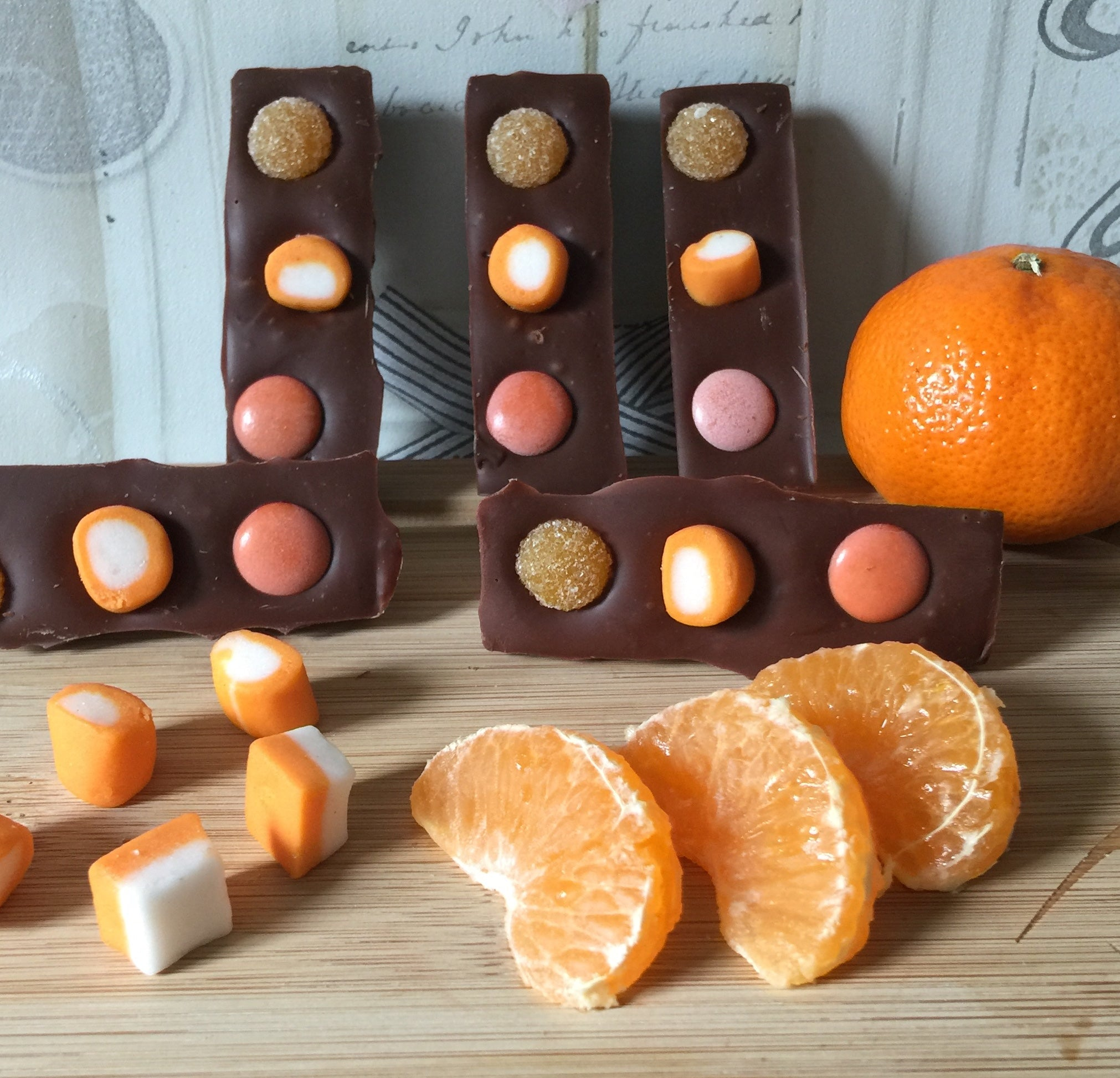 Orange Pick and Mix Mini Bars