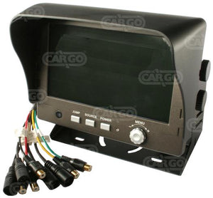 Colour monitor for rear view camera kit