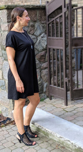 Dolman Shift Dress