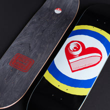 Load image into Gallery viewer, SK8 Heart - Black 9""