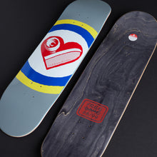 Load image into Gallery viewer, Skate Heart - Gray 8.25""