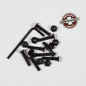 "Independent Cross Bolts - 1"" Allen (Black)"