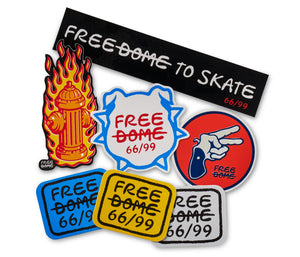 Free Dome #1 - Sticker Pack