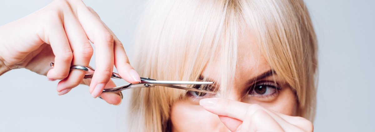 How To Cut Your Own Bangs Or Fringe: 7 Step Guide | Japan Scissors