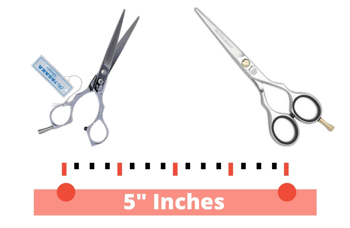 Our 5 Inch Scissors Selection