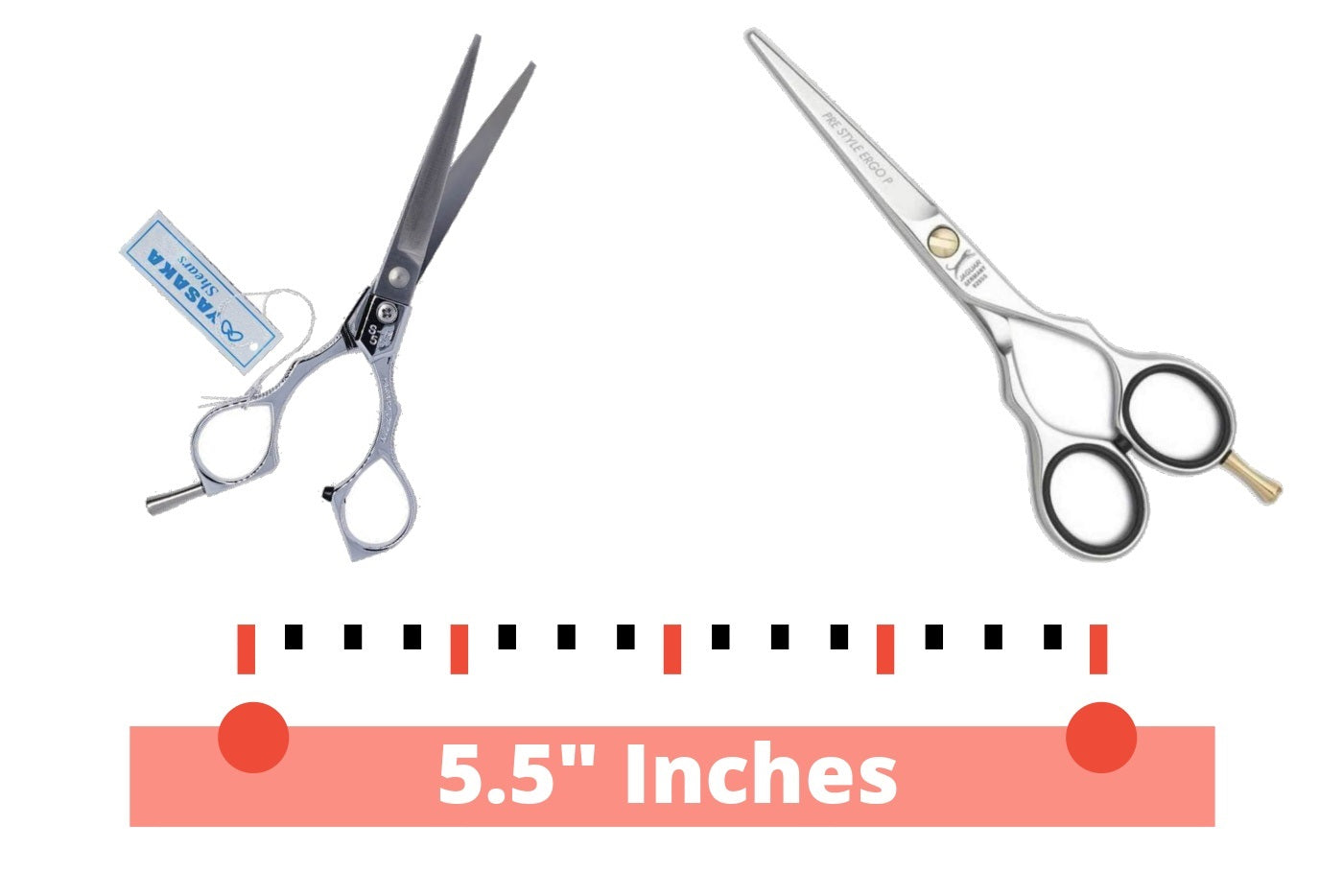 Our 5.5 Inch Scissors Selection