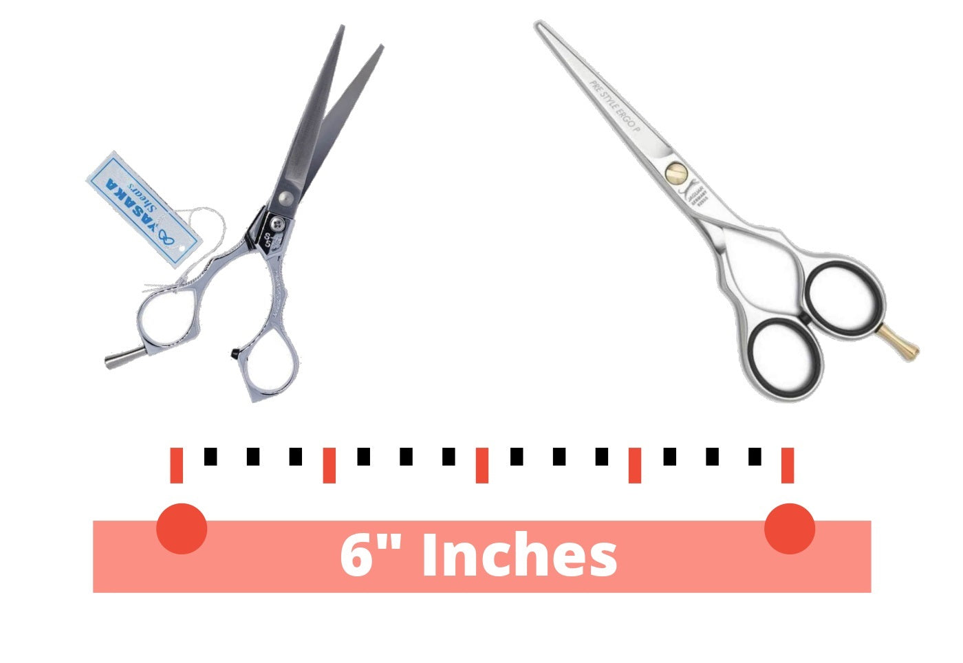 Our 6 Inch Scissors Selection