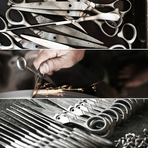 The different kinds of hairdressing scissor steel