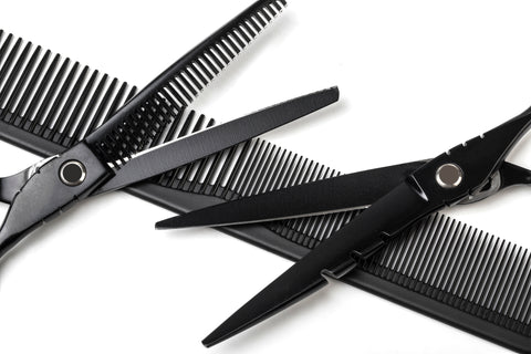 Hairdressing shears and thinning scissors