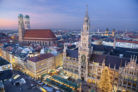 The city of Munich in Germany