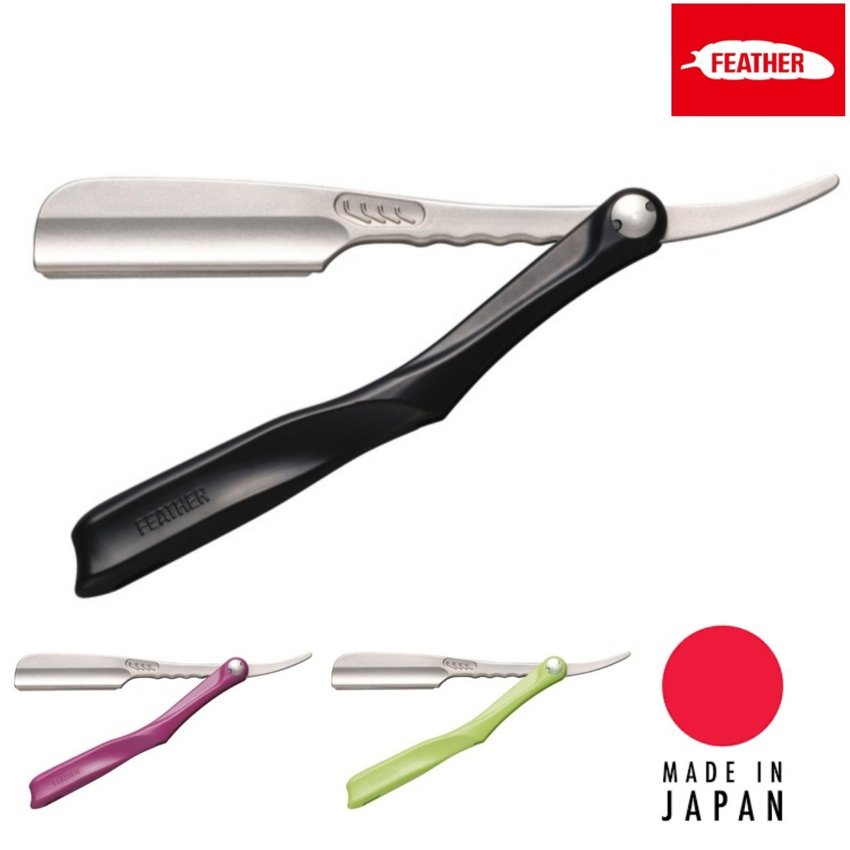 Feather Japan Artist Club SS Folding Razor - Japan Scissors